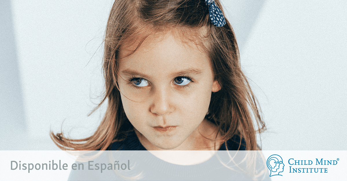 what is odd or oppositional defiant disorder child mind institute
